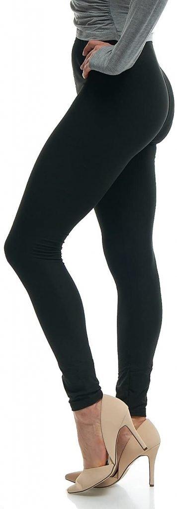 Black Leggings for Zoom