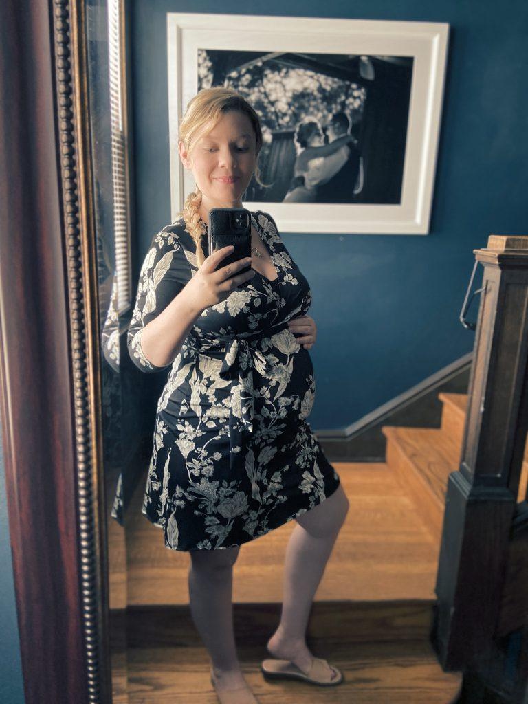 Wrap Dress Pregnant